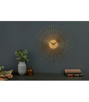 Zegar Ścienny Infinity Home 50 Cm Złoty