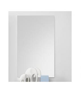 Lustro wiszące INFINITY 50 cm x 80 cm białe