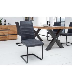 Krzesło Appartment antyczny szary