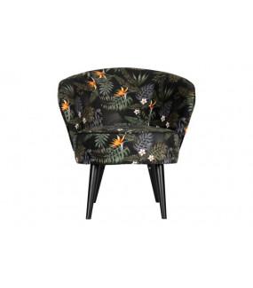 Fotel BO w kwiaty