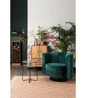 Fotel FLOWER zielony