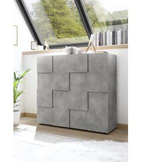 Komoda DAMA 120 Cm optyka betonu