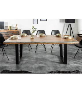 Industrialny stół do salonu.