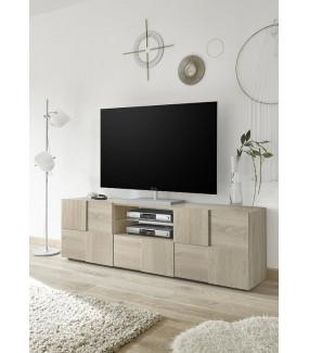 Stolik pod TV 181 cm w kolorze dąb sonoma