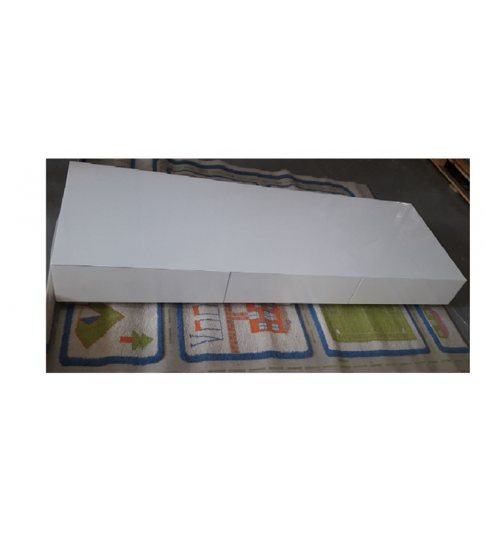 Stolik pod TV Magnolia 204 cm biały
