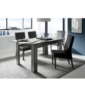Stół rozkładany DAMA 137 cm - 185 cm antracytowy