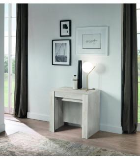 Stół Rozkładany CONSOLLE Z 4 Wkładami W Kolorze pinia biała