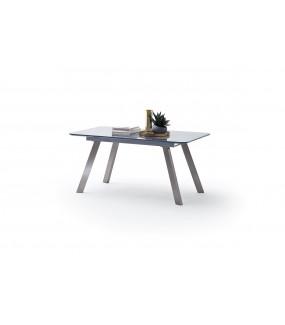 Stół rozkładany OMAHA  160 cm - 200 cm szary