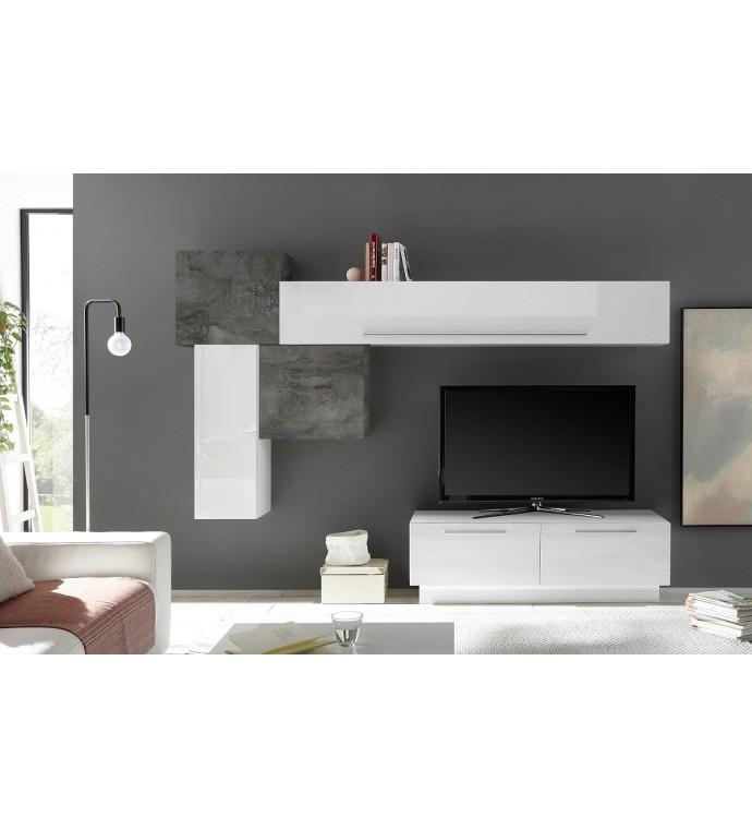 Stolik pod TV INFINITY 138 cm biały