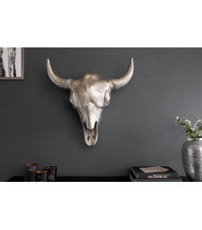 Ozdoba ścienna Matador 56 cm srebrny
