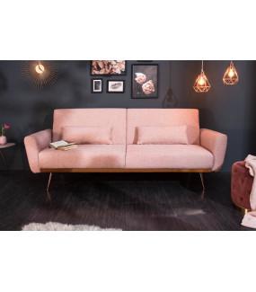 Sofa Bellezza 210 Cm sofa do salonu w kolorze różowym