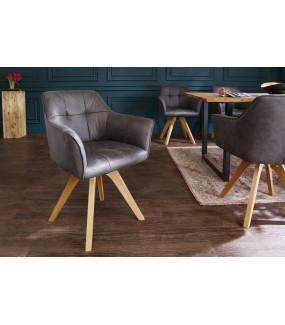 Krzesło Loft antyczny szary