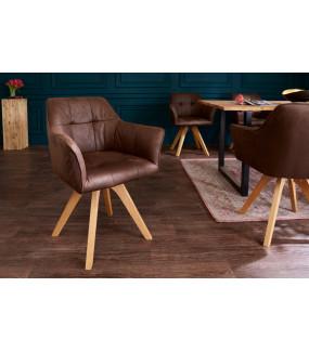 Krzesło Loft Antyczny brąz