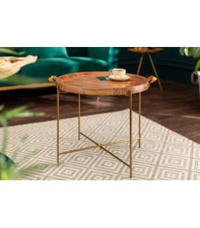 Stolik kawowy Mansoon 55 cm akacja