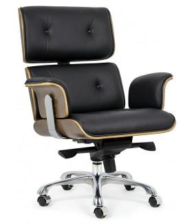 Fotel biurowy LOUNGE BUSINESS czarny