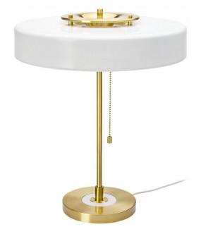 Lampa stołowa ARTE biało-złota