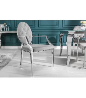 Krzesło Modern Barock szare