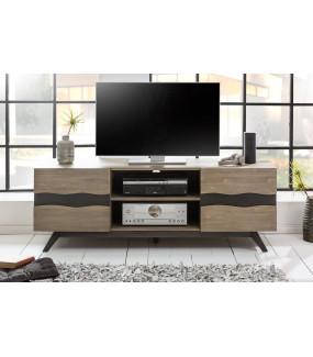Stolik pod TV Genesis 160 cm akacja szara
