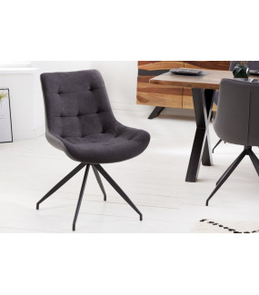 Krzesło Divani ciemnoszare