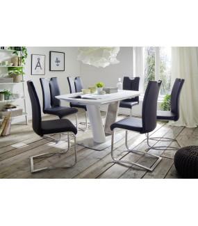 Stół rozkładany VANITA biały do salonu