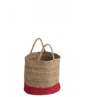 Kosz Bamboo 30 cm naturalny