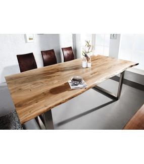 Stół Maamut 160 Cm Akacja w kolorze miodu