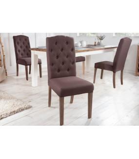 Krzesło Castle brązowe