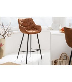 Krzesło barowe Dutch Comfort antyczny brąz