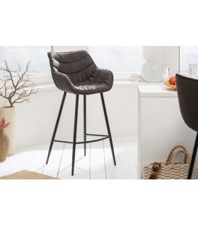 Krzesło Barowe Dutch Comfort Antyczny szary