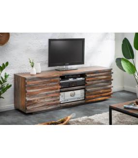 Stolik pod TV OMBRA będzie idealny do salonu w stylu skandynawskim oraz industrialnym