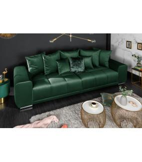 Sofa Elegancia 280 Cm szmaragdowa zieleń