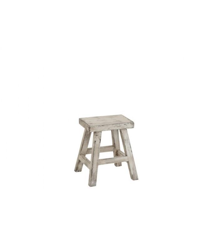 Stołek Ibiza Wood 120 Cm Biały