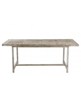 Stół Ibiza Wood 200 cm biały do salonu