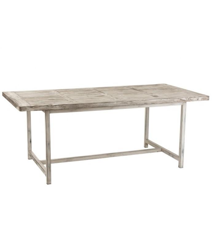 Stół Ibiza Wood 200 cm biały