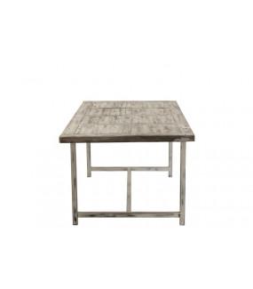 Stół Ibiza Wood 200 cm biały idealny do altanki