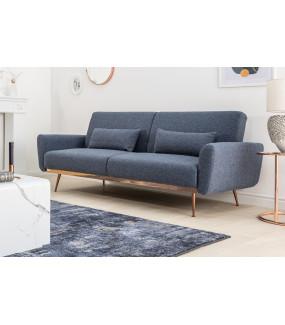 Sofa Beleza Mystic 210 cm ciemnoniebieska