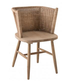 Krzesło Tub naturalny