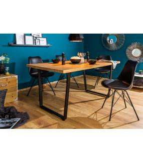 Stół Loft 140 Cm W Kolorze Dębowym