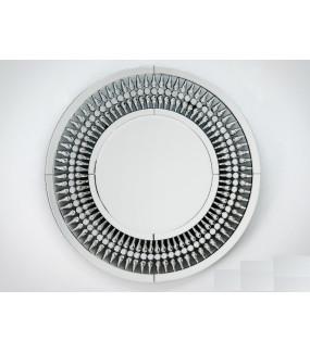 Lustro Art Deco Crystals 80 cm