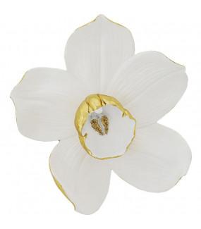 Ozdoba Ścienna Orchid Biała