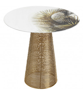 Stolik kawowy Charme Palm 40 cm
