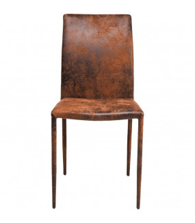 Krzesło Milano antyczny brąz