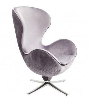 Fotel obrotowy Lounge Leaf Szary