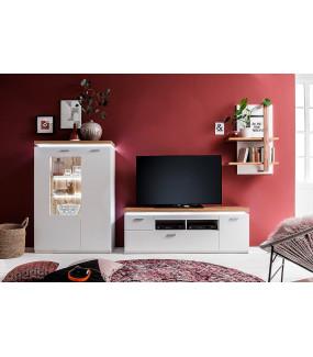 Stolik Pod TV CALI 156 Cm Biały