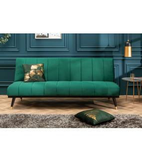 Sofa Belissima 180 cm szmaragdowo zielona