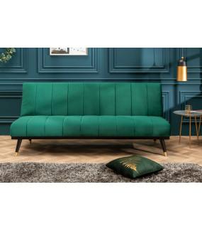 Sofa Belissima 180 cm szmaragdowo zielona do salonu