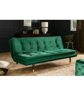 Sofa Maravillo 184 cm szmaragdowo-zielona do salonu