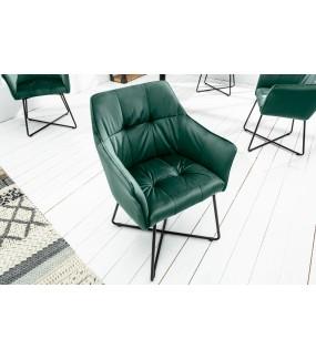 Krzesło Loft Aksamitne aksamitna zieleń
