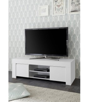 Stolik pod Tv FIRENZE 138 cm biała