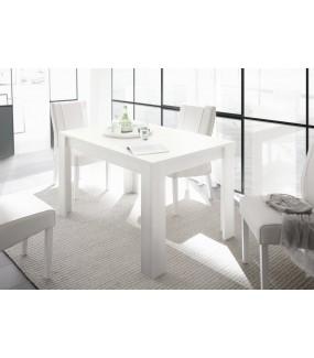 Stół z wkładem FIRENZE 137 cm - 185 cm biały